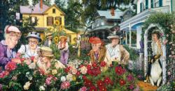 Garden Club Ladies People Jigsaw Puzzle