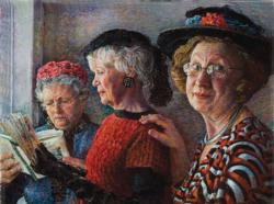 Church Ladies People Jigsaw Puzzle