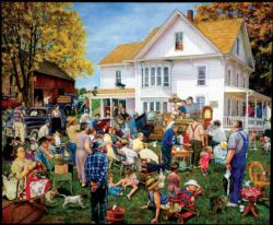 Farmhouse Auction Farm Jigsaw Puzzle