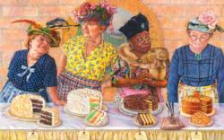 And the Blue Ribbon Goes to Sweets Jigsaw Puzzle