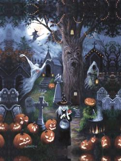 Halloween Night Halloween Jigsaw Puzzle