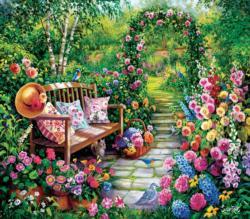 Kim's Garden Garden Jigsaw Puzzle