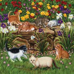 Wall Flowers Flowers Jigsaw Puzzle