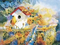 A New Song Flowers Jigsaw Puzzle
