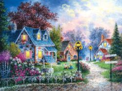 Bearwell Lane Cottage / Cabin Jigsaw Puzzle