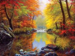 Autumn Sanctuary Nature Jigsaw Puzzle