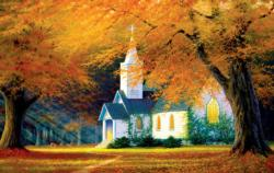 Church in the Glen Churches Jigsaw Puzzle