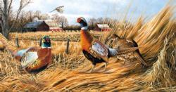 Pheasant Farm Birds Jigsaw Puzzle