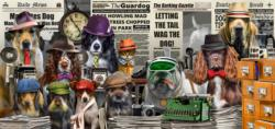 NewsHounds Dogs Panoramic Puzzle