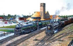 5 Brandford Trains Jigsaw Puzzle