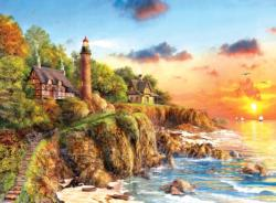 Sunset at Craggy Point Sunrise/Sunset Jigsaw Puzzle