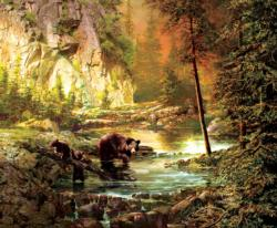 Bearly Daylight Sunrise / Sunset Jigsaw Puzzle