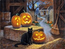 Cat o Lantern Halloween