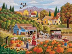 Valley Orchards Sunflower Jigsaw Puzzle