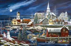 Winter Harbor Jigsaw Puzzle