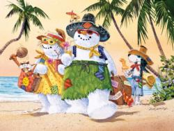 Just Arrived Beach Jigsaw Puzzle