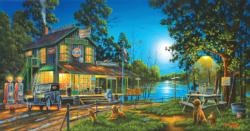 Dixie Hollow General Store General Store Panoramic Puzzle