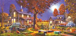 Maple Spring Retreat Cottage / Cabin Jigsaw Puzzle