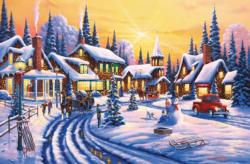 A Winter Story Christmas Jigsaw Puzzle