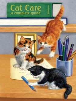 Cat Care - Scratch and Dent Cats Jigsaw Puzzle