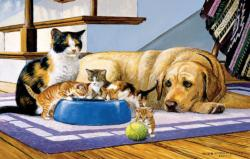 What's a Dog to Do? Dogs Jigsaw Puzzle
