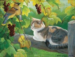 Grapevine Secrets Cats Jigsaw Puzzle