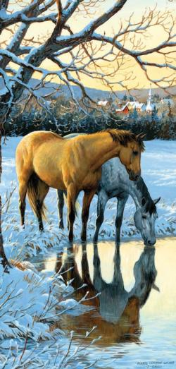 Reflections Snow Jigsaw Puzzle