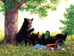 Stolen Moments Bears Jigsaw Puzzle