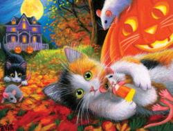 Halloween Fun With Friends Halloween Jigsaw Puzzle