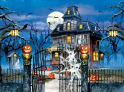 Welcome to our House Halloween Jigsaw Puzzle
