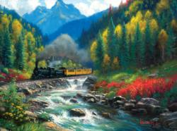 Durango Silverton - Scratch and Dent Lakes / Rivers / Streams Jigsaw Puzzle