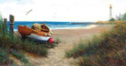 Evening at the Coast Seascape / Coastal Living Jigsaw Puzzle