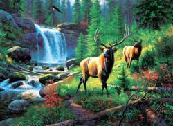 Mountain Harmony Nature Jigsaw Puzzle
