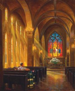 Sanctuary of Peace Churches Jigsaw Puzzle