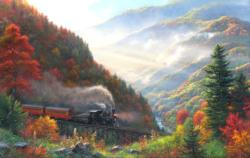 Great Smoky Mountain Railroad Landscape Jigsaw Puzzle