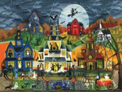 Spooky Street Halloween Jigsaw Puzzle