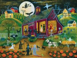 Ho Down Barn Dance Halloween Jigsaw Puzzle