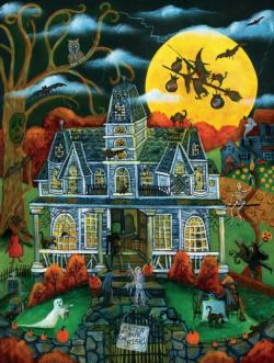 Halloween Potions and Tricks - Scratch and Dent Halloween Jigsaw Puzzle
