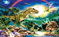 Tyrannosaur Dinosaurs Jigsaw Puzzle