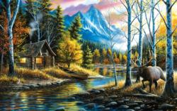 Livin' the Dream Cottage / Cabin Jigsaw Puzzle