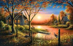 Glorious Sunset Sunrise / Sunset Jigsaw Puzzle