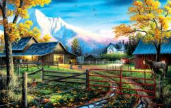 Western Lifestyle Countryside Jigsaw Puzzle