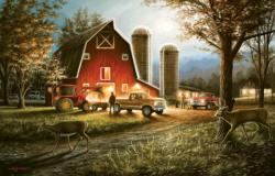 Harvest Nights Farm Jigsaw Puzzle