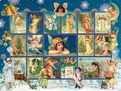 Christmas Snow Angels Christmas Jigsaw Puzzle