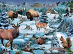 Meadowland Winter Winter Jigsaw Puzzle