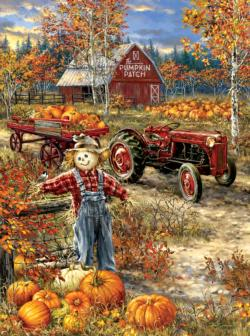 The Pumpkin Patch Farm Fall Jigsaw Puzzle