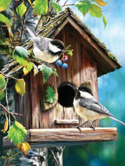 At Home Sweet Home Birds Jigsaw Puzzle