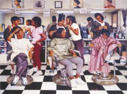 Beauty Shop Gossip Domestic Scene Jigsaw Puzzle