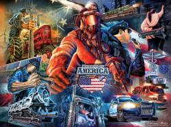 The Backbone of America Jigsaw Puzzle