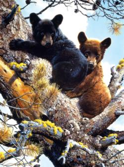 Adventure in the treetops Bears Jigsaw Puzzle